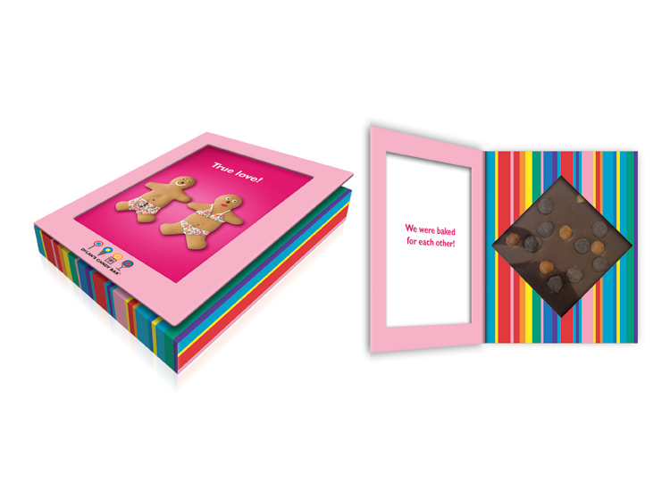 Dylan's Candy Bar Card Package Front and Inside