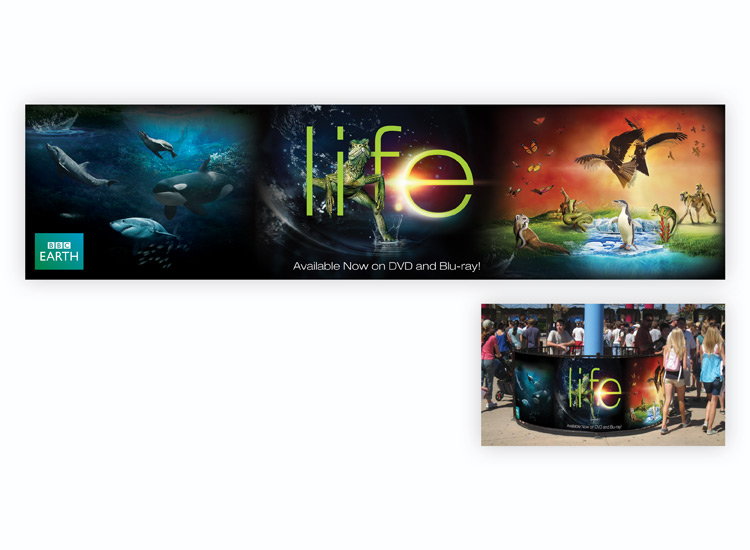 Life Banner for Six Flags