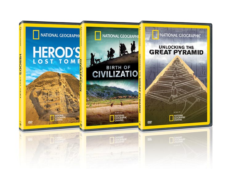 National Geographic DVDs 1