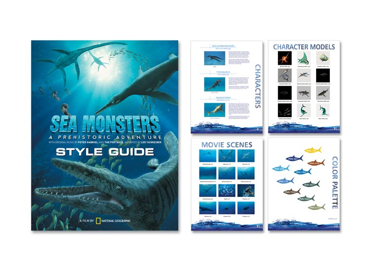 Sea Monsters Style Guide