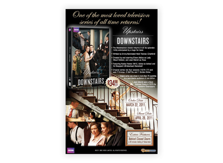 Upstairs Downstairs E-Announce